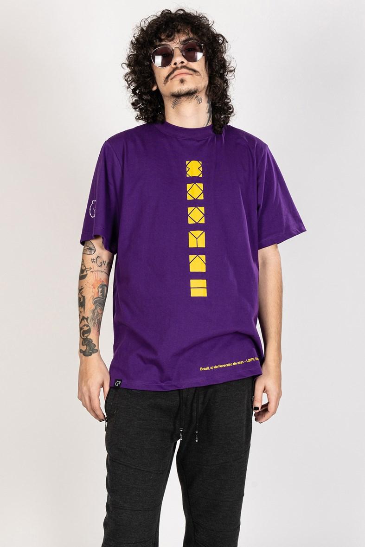 Camiseta Furia Clutch Cápsula 2 Roxa