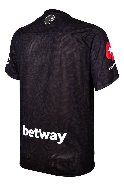 Camiseta Furia Oficial 2021 Patrocinadores Preta