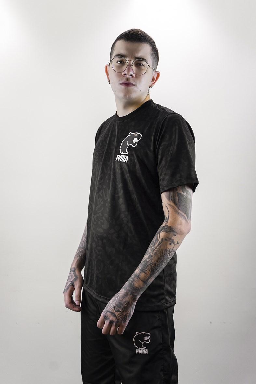 Camiseta Furia Oficial 2021 Preta
